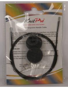Żyłka KnitPro 80 cm do drutów z końcówkami