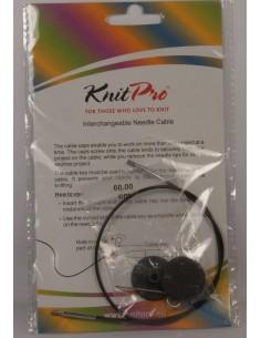 Zyłka KnitPro do drutów wraz z końcówkami dł  60cm